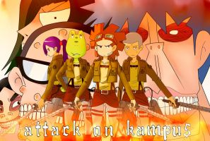 Attack on 'kampus' by ABRAQIB94