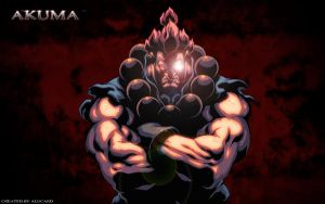 Akuma Wallpaper by evilalucard