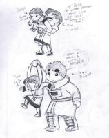 Simon and Vya - Big and Little Brother by saxitlurg