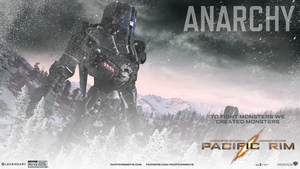Pacific Rim - Anarchy Jaeger by Aleronssword