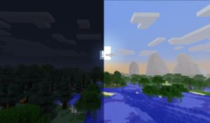 Minecraft - Day and Night by unusual229