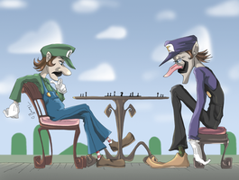 Luigi's Rival by thweatted