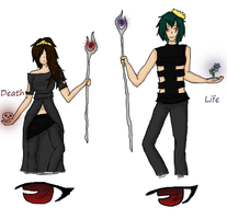 Death nd Life .:Contest Entry:. by MisoriFire