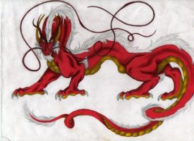 Imperial Dragon by LunarOracle