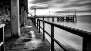 Pathway To The Pier by AntonioGouveia