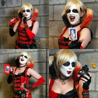 Harley Quinn Arkham City Cosplay by Cervs