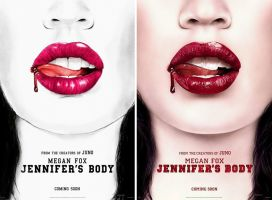 Jennifer's Body Replica Poster by Guyom