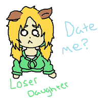 Loser Daughter ANYONE WANT TO SHIP?????? by Code-Sonic
