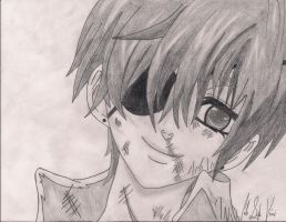 Ciel Phantomhive Drawing by Cheshire-Kitteh