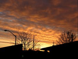 Sunrise Starting to Die Down... by Michies-Photographyy