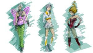 fashion design colors by isalro