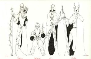 More Character Sketches by JPHazen