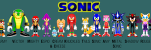 Sonic The Movie. Entire Cast by BoozermaN