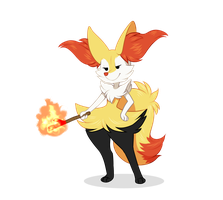 Braixen by Sofi-aa