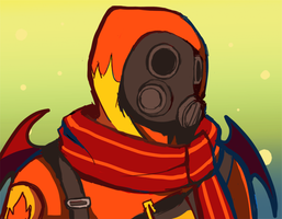 Pyro Icon by MoonlightTheWolf