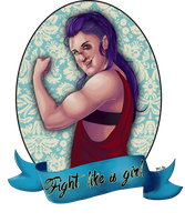 Fight Like a Blaire by Lon3NightWolf