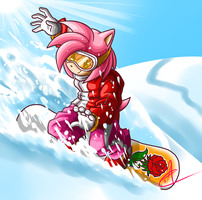 Amy Snowboarding Redesign by Ultra-Adeline