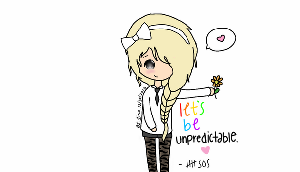Let's Be Unpredictable.. by LinaaSaur