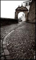 Cobbled Street by AshleySmith