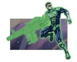 Green Lantern by SachaLefebvre