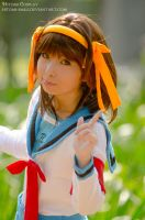 If there are any aliens, espers ,come join me by Hitomi-Cosplay