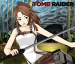 The Tomb Raider in the Forest by FlyingPrincess