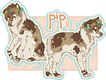 fursona reference 2015 by pipamir