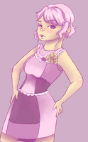 Girl in Purple by 887pink