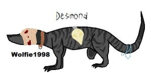 Desmond :contest: by wolfie1998