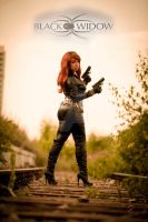 Black Widow my favorit Cosplay by Monakisu-chan