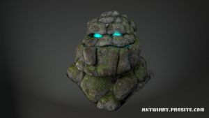 Rock Golem by Eckko