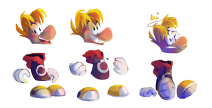 Rayman by Den122