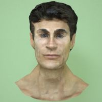3D Realistic Male Face Study by msalihelci