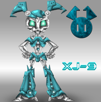 JENNY XJ9 STILE TRANSFORMERS by mayozilla