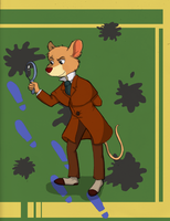 The Great Mouse Detective by EsuNeh