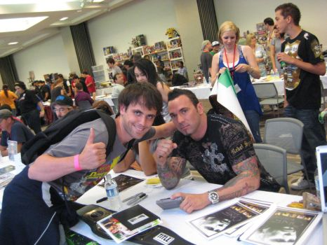 Me and Jason David Frank by htfman114