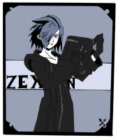 Colored Zexion by Zo0my