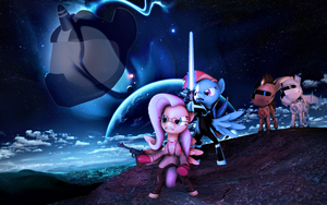 [SFM Request] Ponified movies 3:Neigh Wars by SourceRabbit