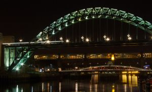 Newcastle by night 1 by paradoxofminds