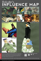 influence map by hotcake