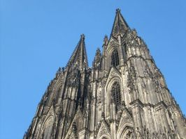 Cologne Cathedral :1 by dj-corny