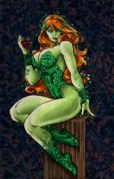 Poison Ivy Colored by Amilee