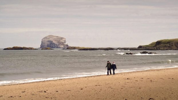 A Walk on the Shores of Scotland by siposh