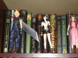 Final Fantasy 7 Figures by Puja723