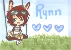 Badge commission. Rynn by MarshmallowCream