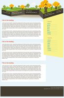 Eco Green Blog template by mediarays