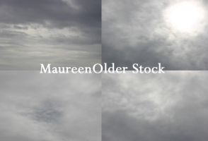 STOCK PHOTO clouds7 by MaureenOlder