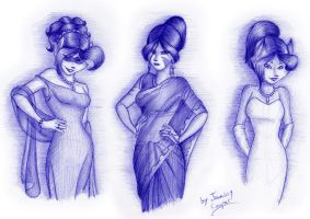 Evening Ladies by JennissyCooper
