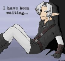 Dark Link is Waiting by rydiahighwind