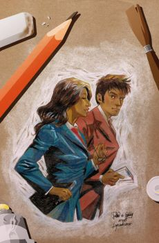 Doctor Who - The Tenth Doctor 3.1 cover by elena-casagrande